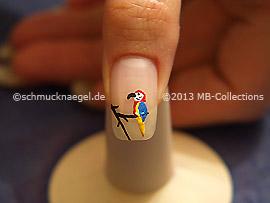 Nail art motif 357