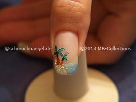 Nail art motif 364