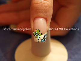New Years Eve 7: Nail art motif 372