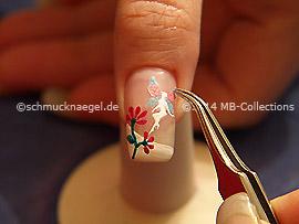Fairy sticker amd tweezers