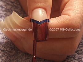 nail polish in the colour copper