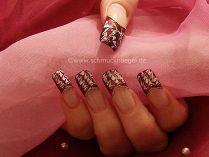 Copper french motif