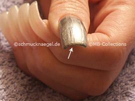 nail art pen in the colour silver