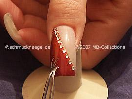 nail tattoo and tweezers