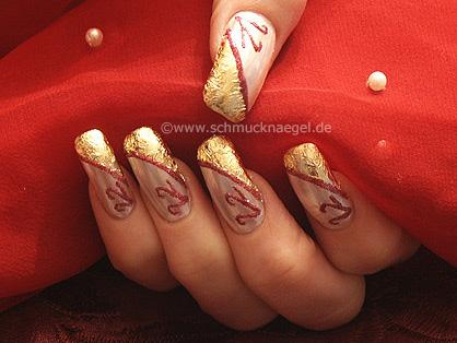 Pearl gold design