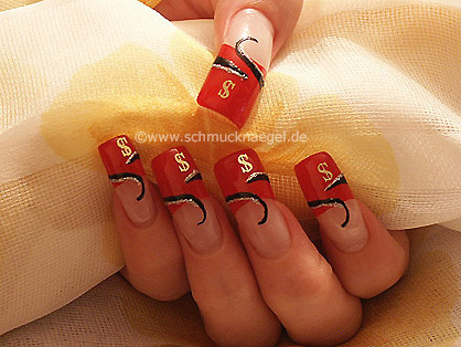 French manicure templates for nails