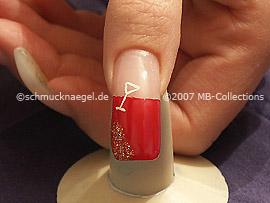 Silvester motif 1 - Nail art motif 094