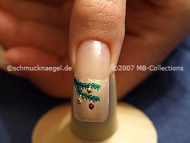 Christmas motif 5 - Nail art motif 098