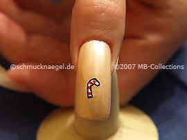 Christmas motif 6 - Nail art motif 099